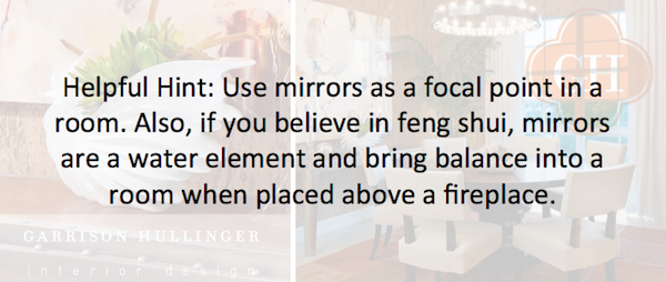 tips and tricks of using mirrors above fireplaces, using mirrors as focal points