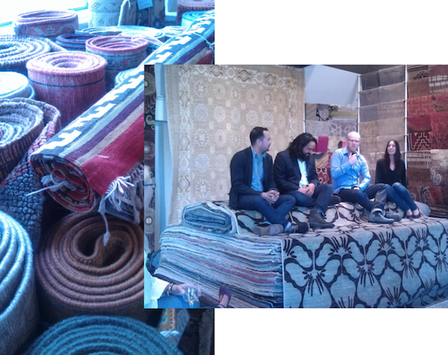 amadi carpets comes to portland, portland hand made rugs, portland luxurious rugs