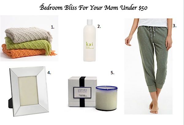 gift guide for $50 or less, cheap gifts for mothers