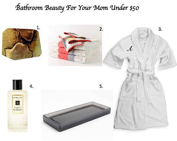 fifty dollar or less gifts for mother's day, interior design picks for gifts