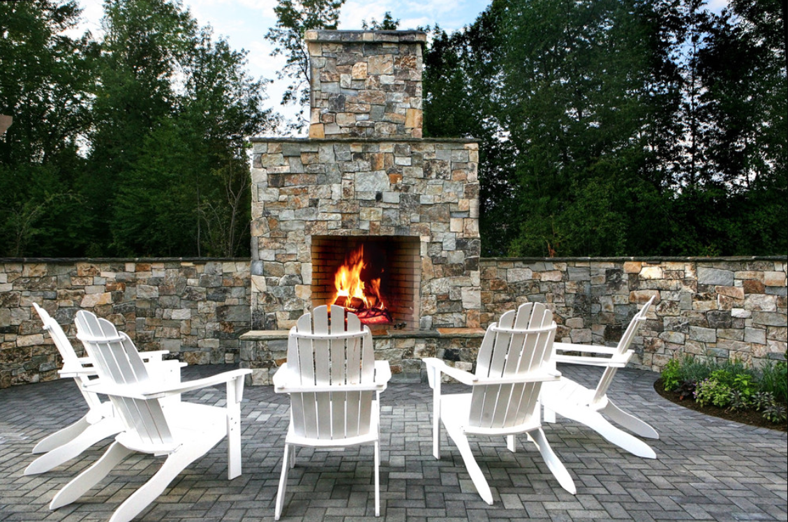 creating a warm and cozy atmosphere outside, decorating outdoor spaces, designing outdoor spaces