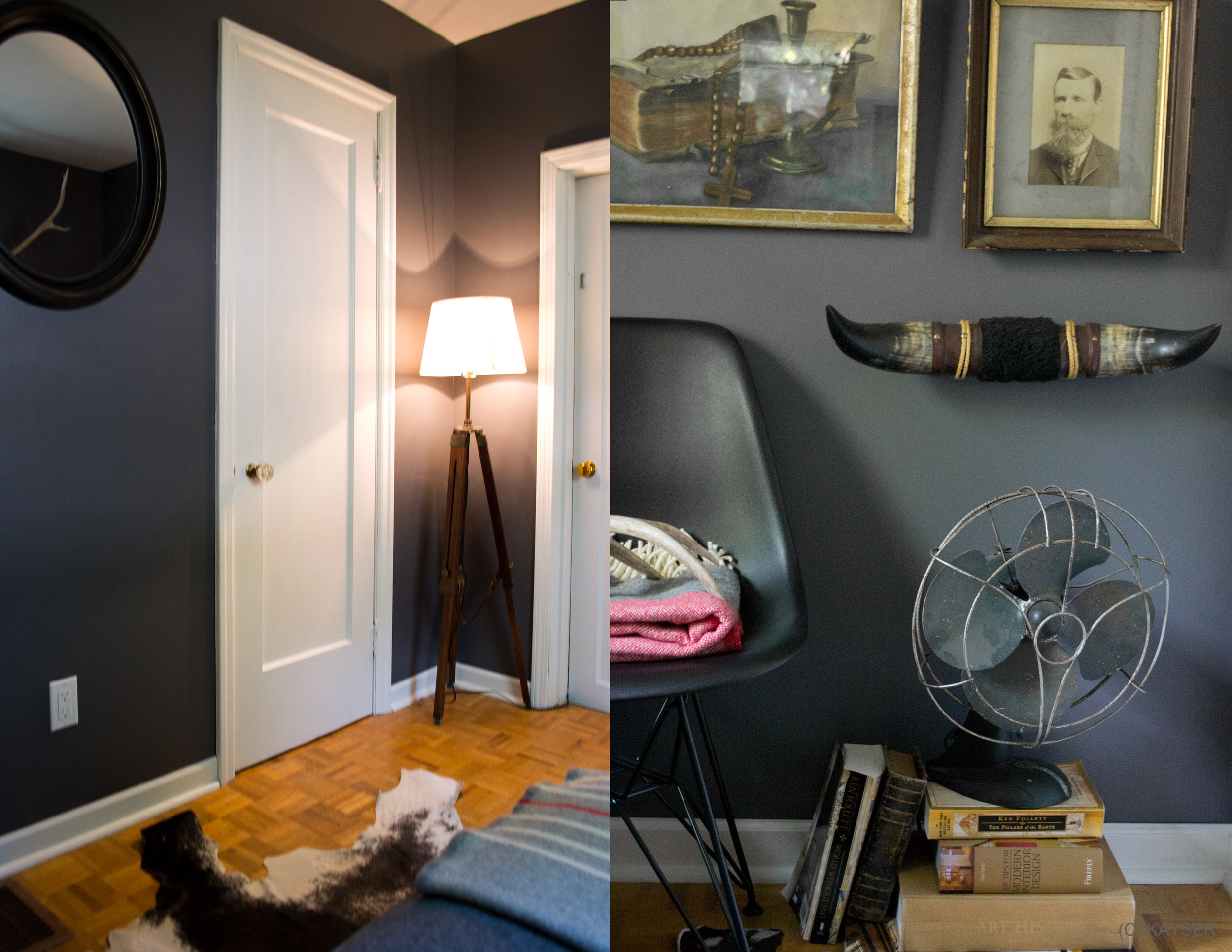 ideas for interiors that are not feminine, garrison hullinger interior designer, inside look at an interior designers home