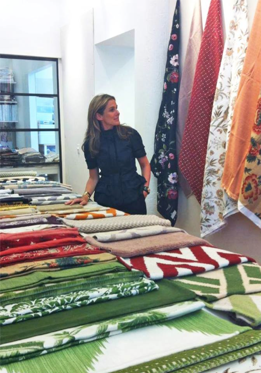 new collection shown at lee jofa, preview of aerin lauder's new collection