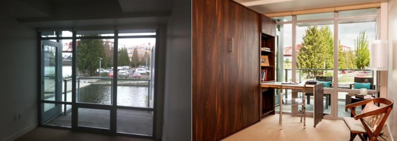 Before And After Pictures Of Interior Design, Interior Designer Work In  Portland, Condo Decor