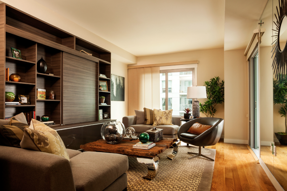 ways to design small spaces, condos with fabulous interiors, best condo designers