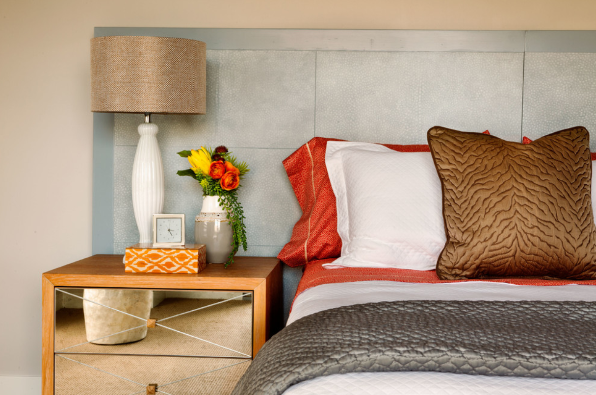 a guide to getting the right bedside table, garrison hullinger interior design