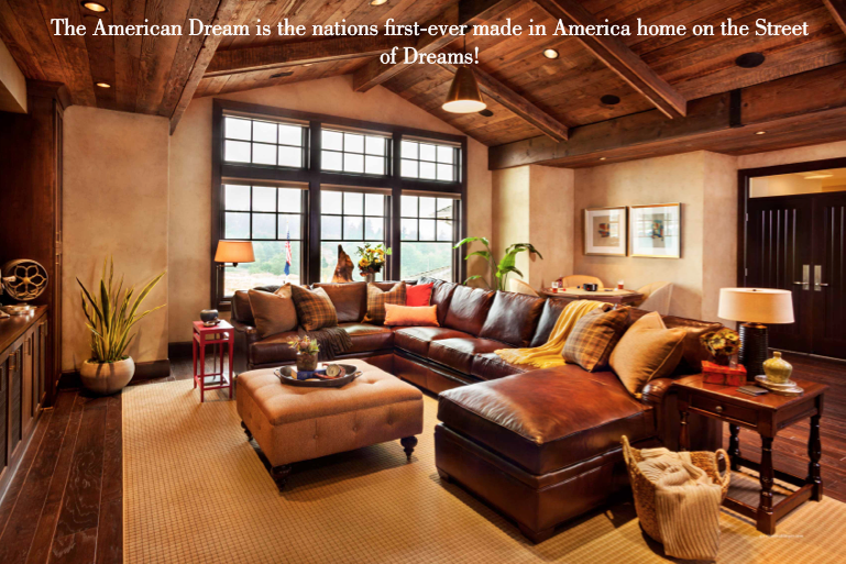 made in america products, homes that are made with american made products, street of dreams home with american made products