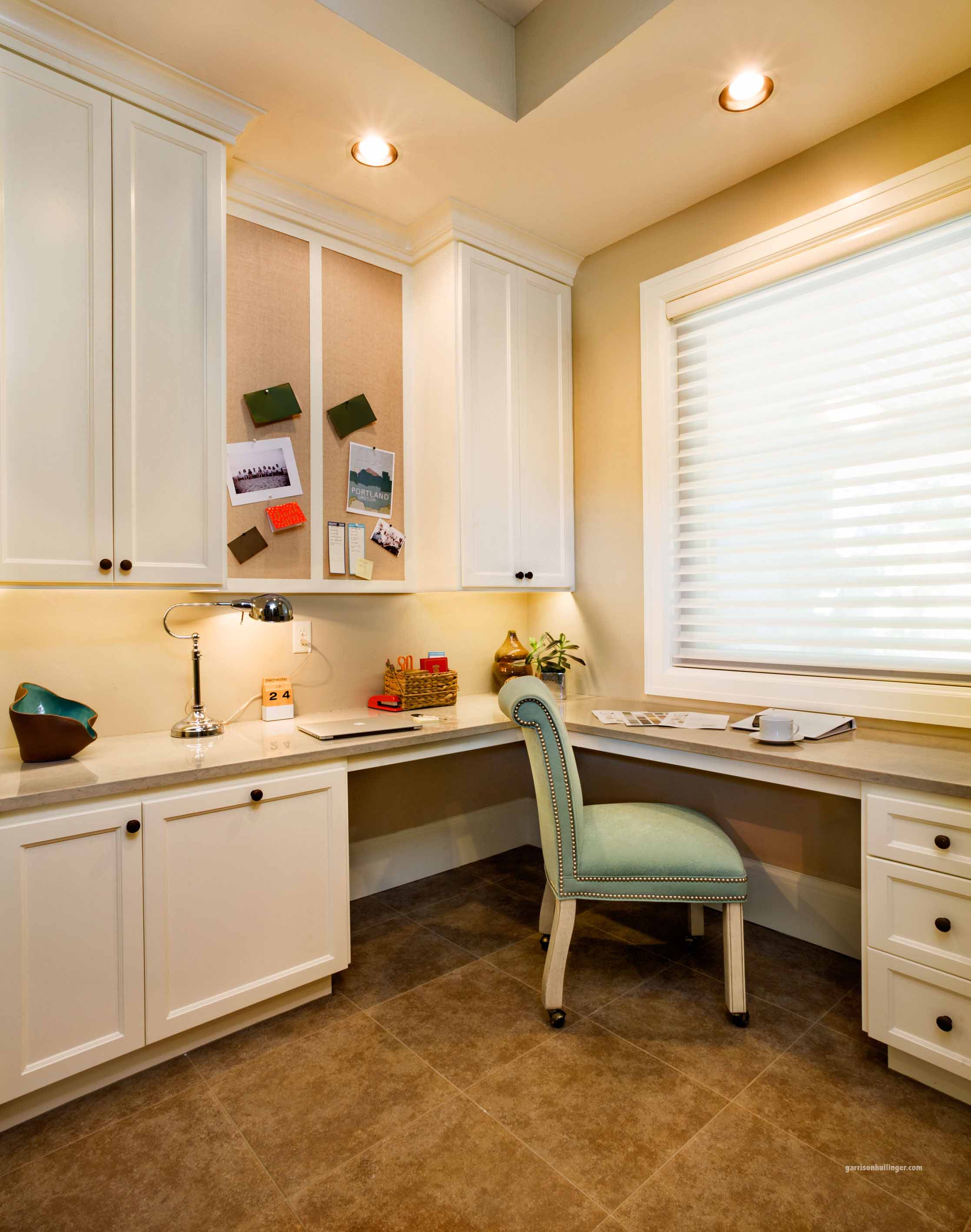 turning unused space into a functional office, hallway turned closet, multi-functional spaces
