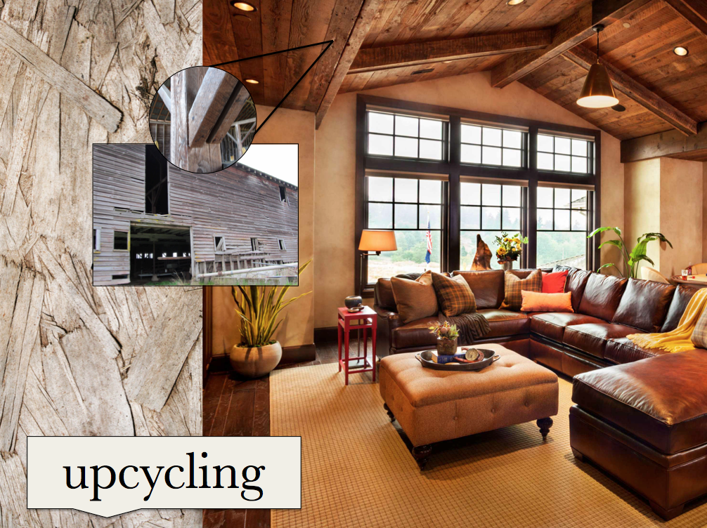 using recycled materials in interior design, how to upcycle in your home, upcycling inspiration for your interiors