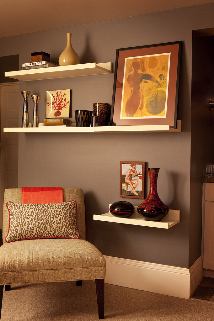 most popular vignette on Houzz, garrison hullinger interior design shelving decor, best interior designers for home design