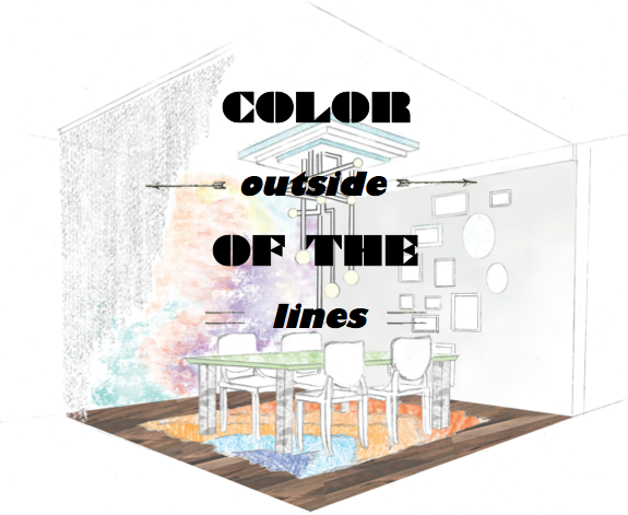 color outside of the box, colorful interiors, serving up style booths