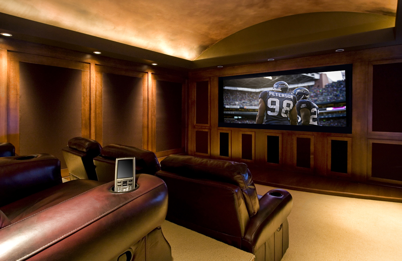 coolest media rooms, best ideas for a man cave, garrison hullinger interior design