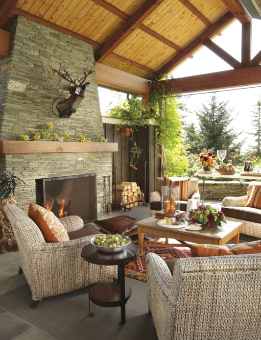 inspiration for outdoor spaces, comfortable outdoor spaces, perfectly decorated outdoors spaces