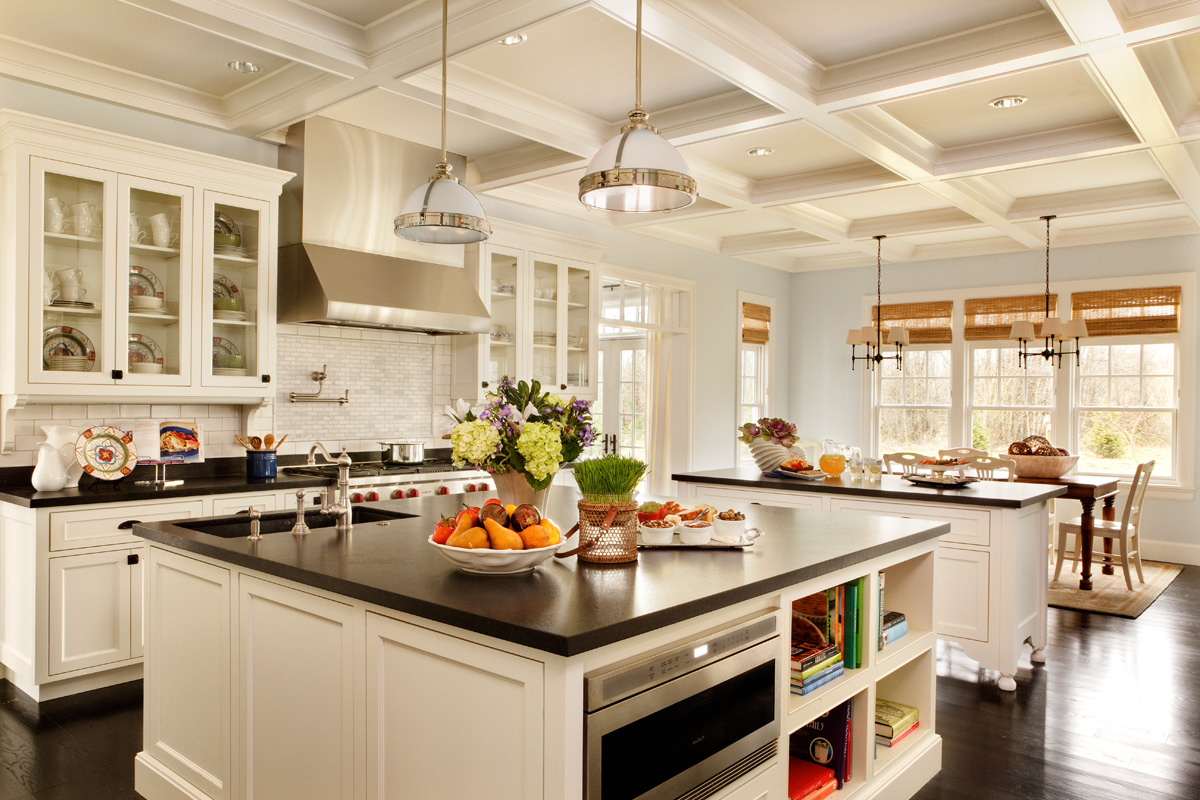 most popular kitchen on houzz, traditional kitchen design, black and white kitchens
