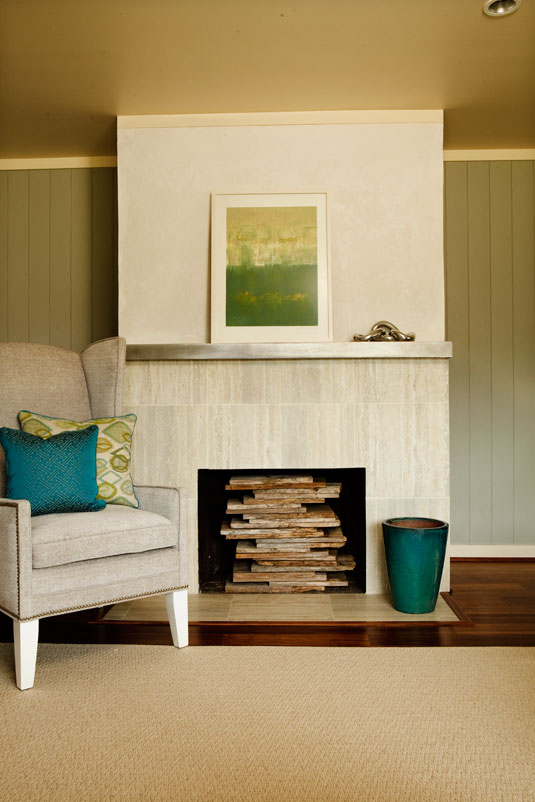 how to decorate an unused fireplace, decorating the inside of your fireplace,  what to