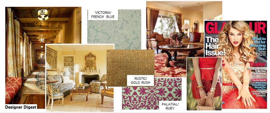 society influencing interior design, traditional decorating, traditional homes and patterns