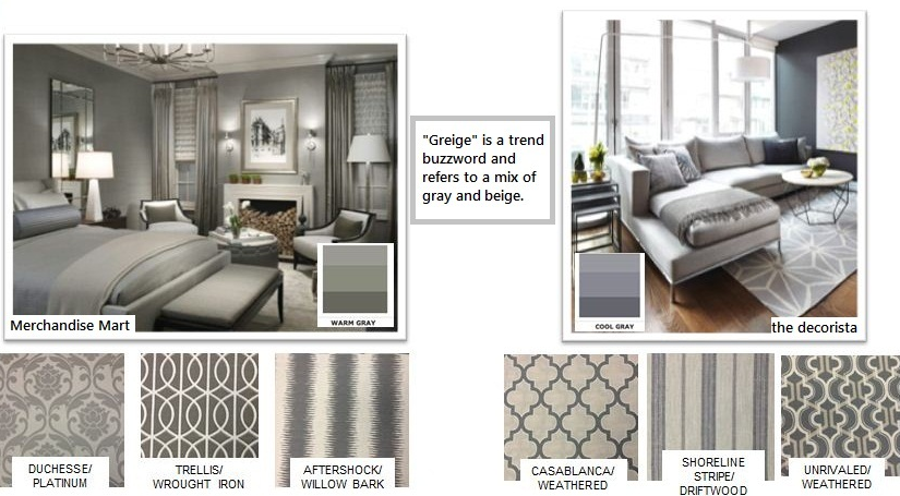 greige, the best neutral colors to use in interior design, fabrics that use grey in your home decor