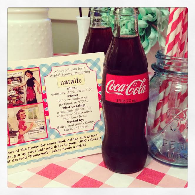 great ideas for bridal parties, cute themes for a party, retro themes