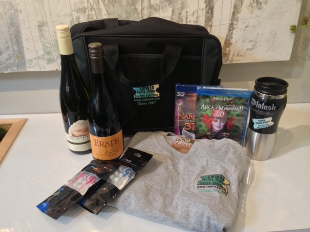 great donation ideas for giveaways, lewis audio and video raffle prize, great gifts from lewis audio and video
