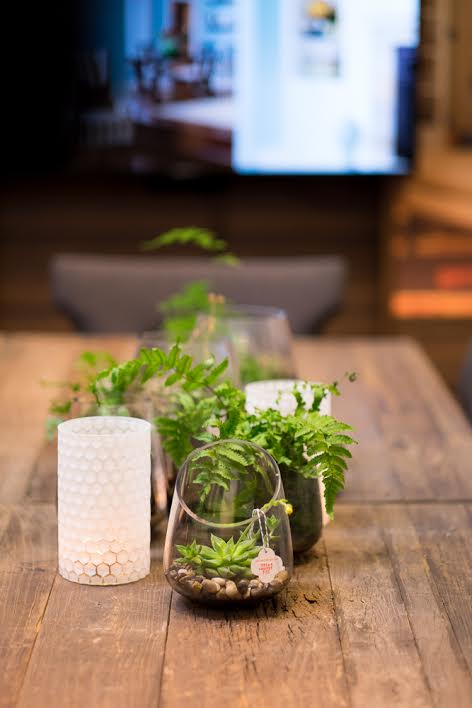 how to decorate your table for rustic at home entertaining. cute ways to display greenery in your home, cool home decor stores in Portland