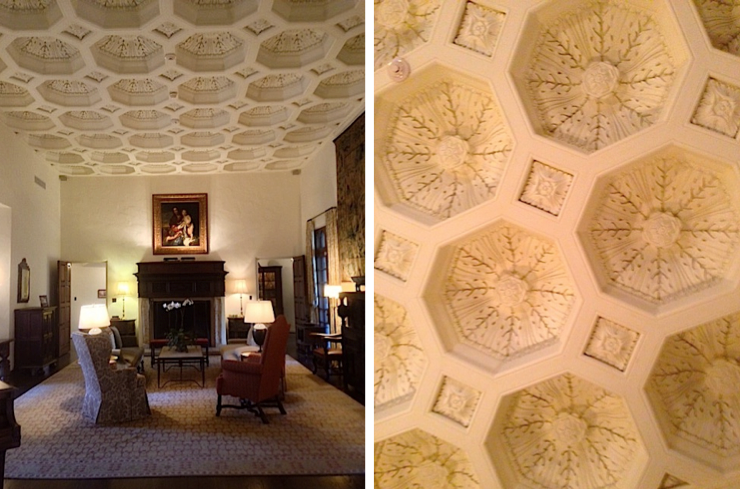 detailed ceilings, getting your interiors to feel antique, the interiors of old estates in texas