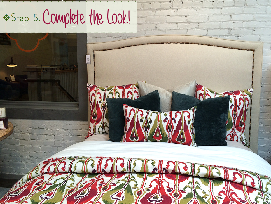 make your bed like a pro, designer inspired bed, how to make your bed look full and beautiful