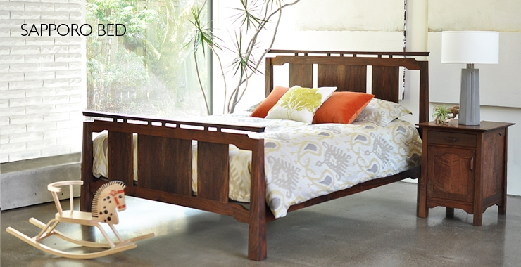 joinery bedroom furniture, american made bed frame, portland oregon furniture