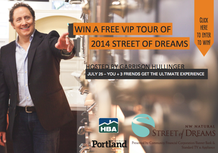 win free tickets to the street of dreams, giveaways for the street of dreams, oregon street of dreams