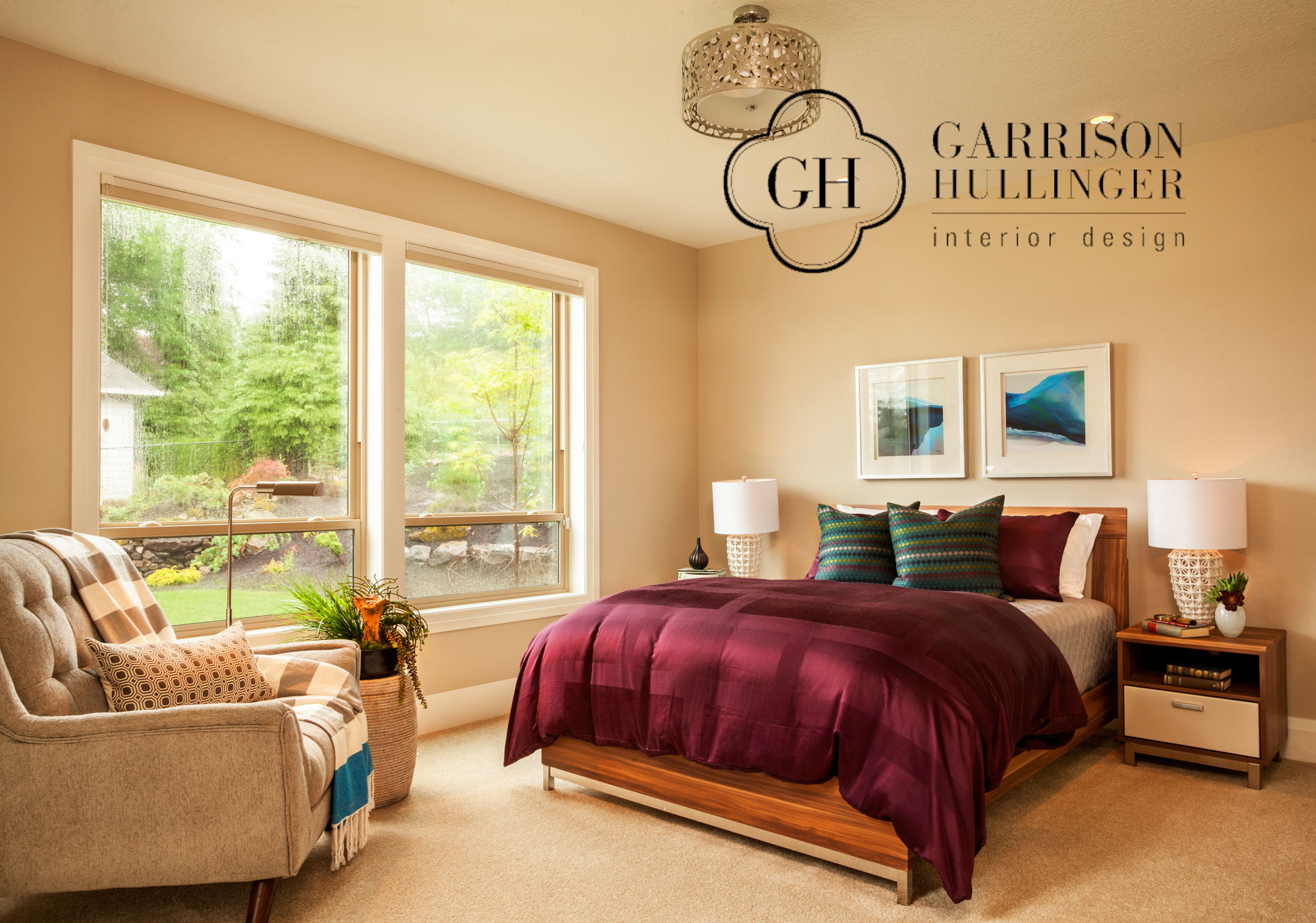 sophisticated contemporary master bedroom, contemporary interiors, mulitgenerational living and bedrooms