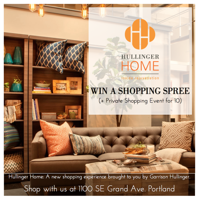 great giveaways for home decor, portland based home decor and gift shops, best place to buy custom furniture