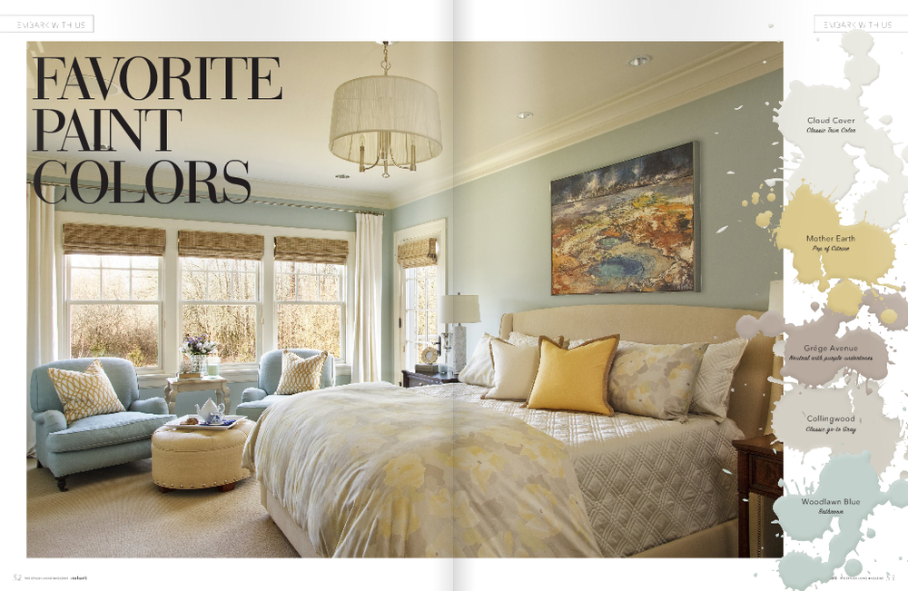 Most popular paint colors for model homes