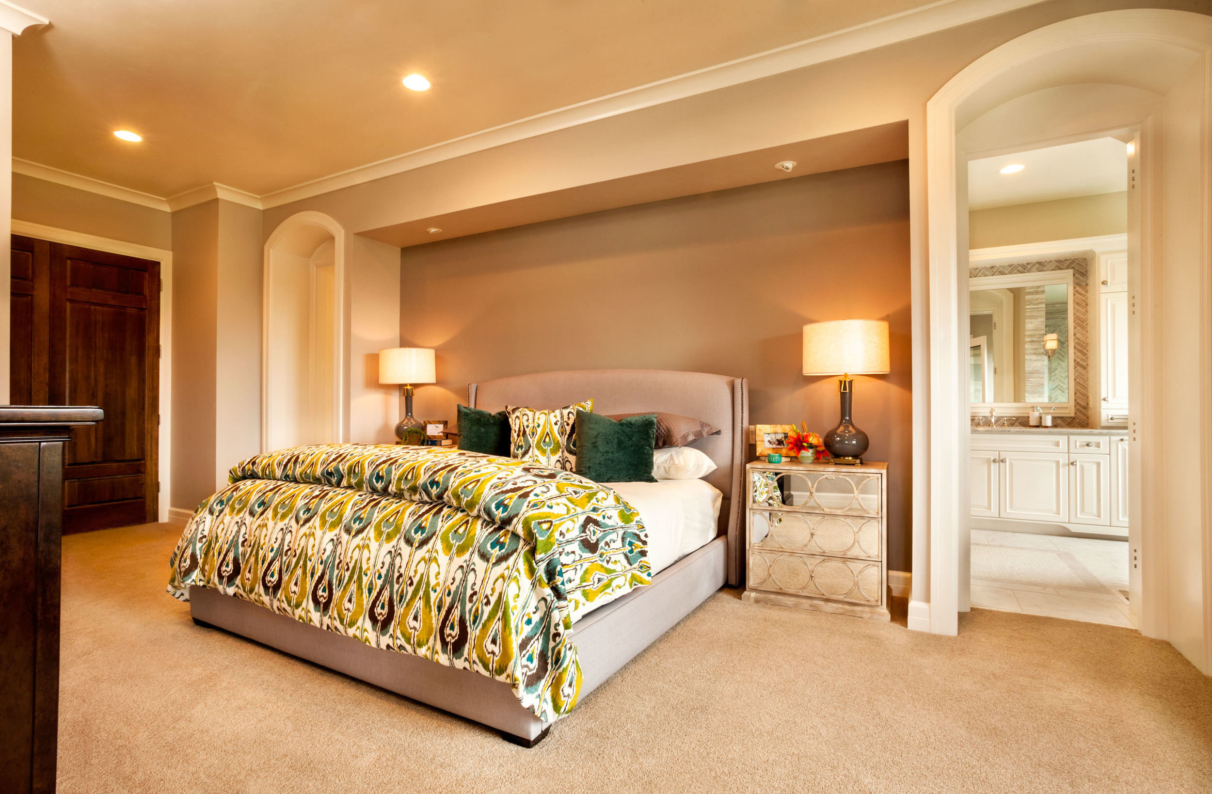 street of dreams master bedroom, interior designers from the street of dreams, the best oregon interior designers