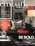 Portland interior designer Garrison Hullinger covered by Embark Magazine