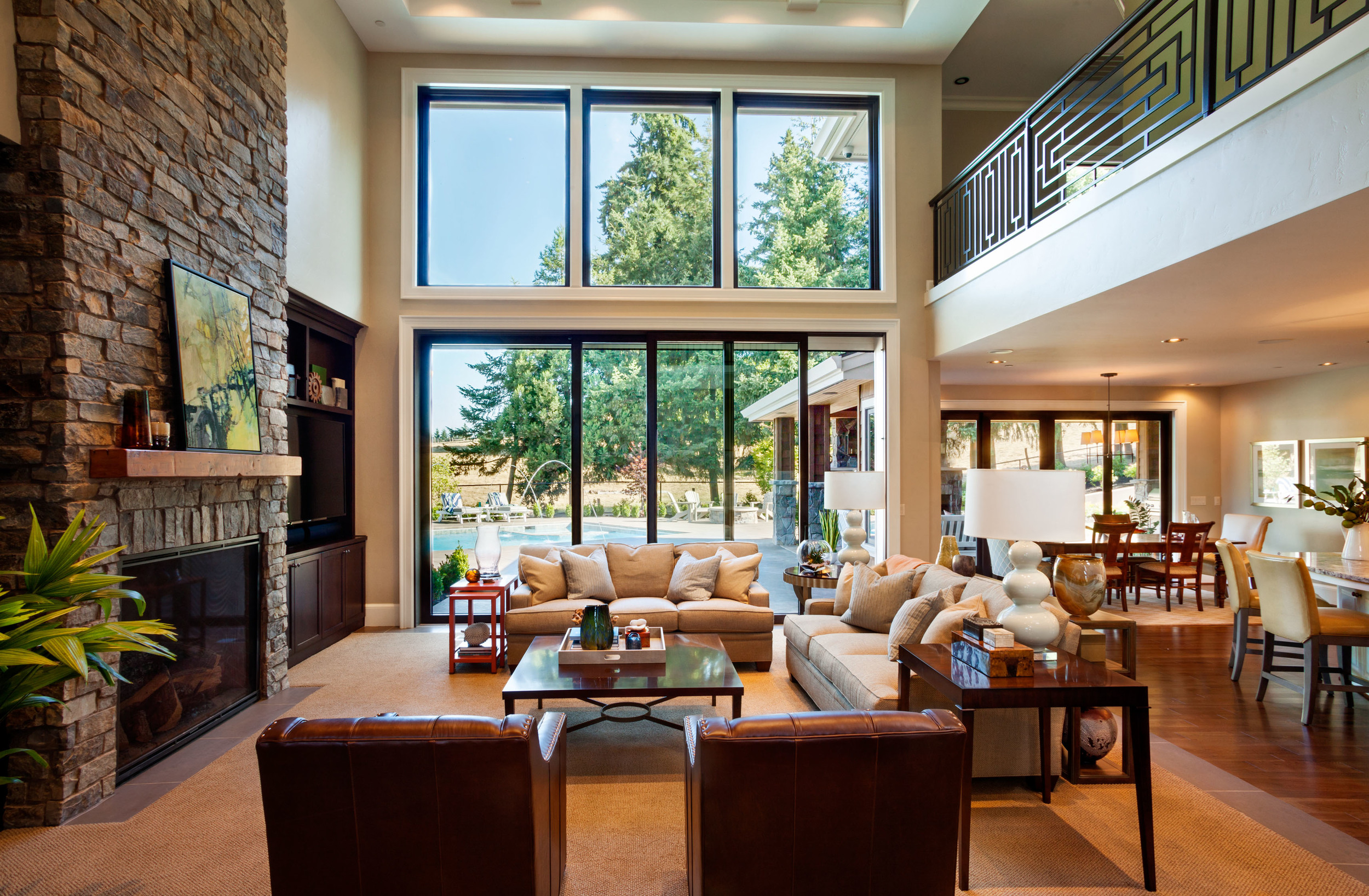 living room ideas with big windows awesome home design