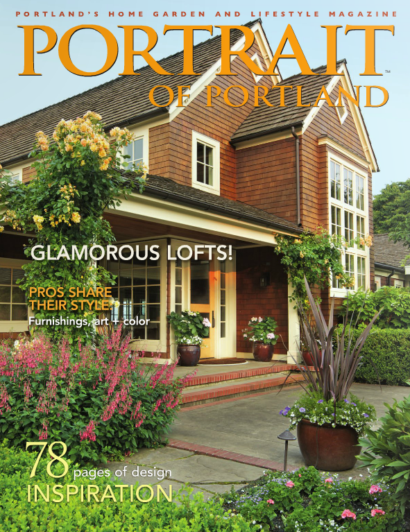 Portland interior designer Garrison Hullinger covered by Portrait of Portland Magazine