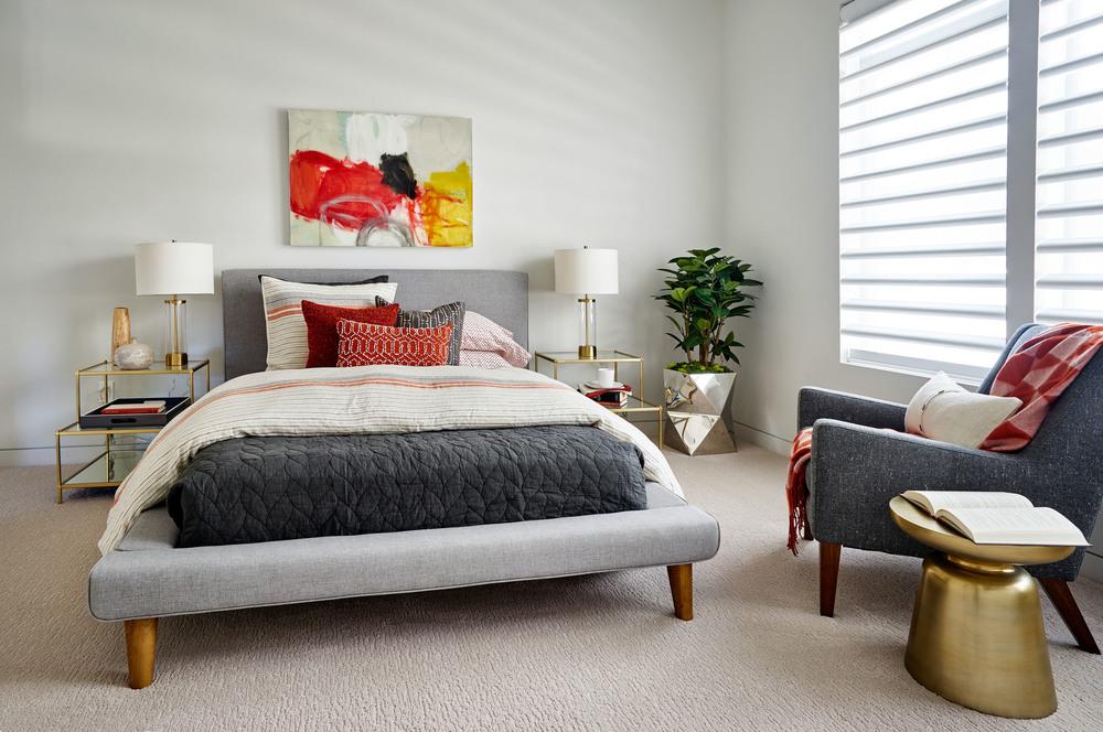 Sandhill Crane Master Bedroom