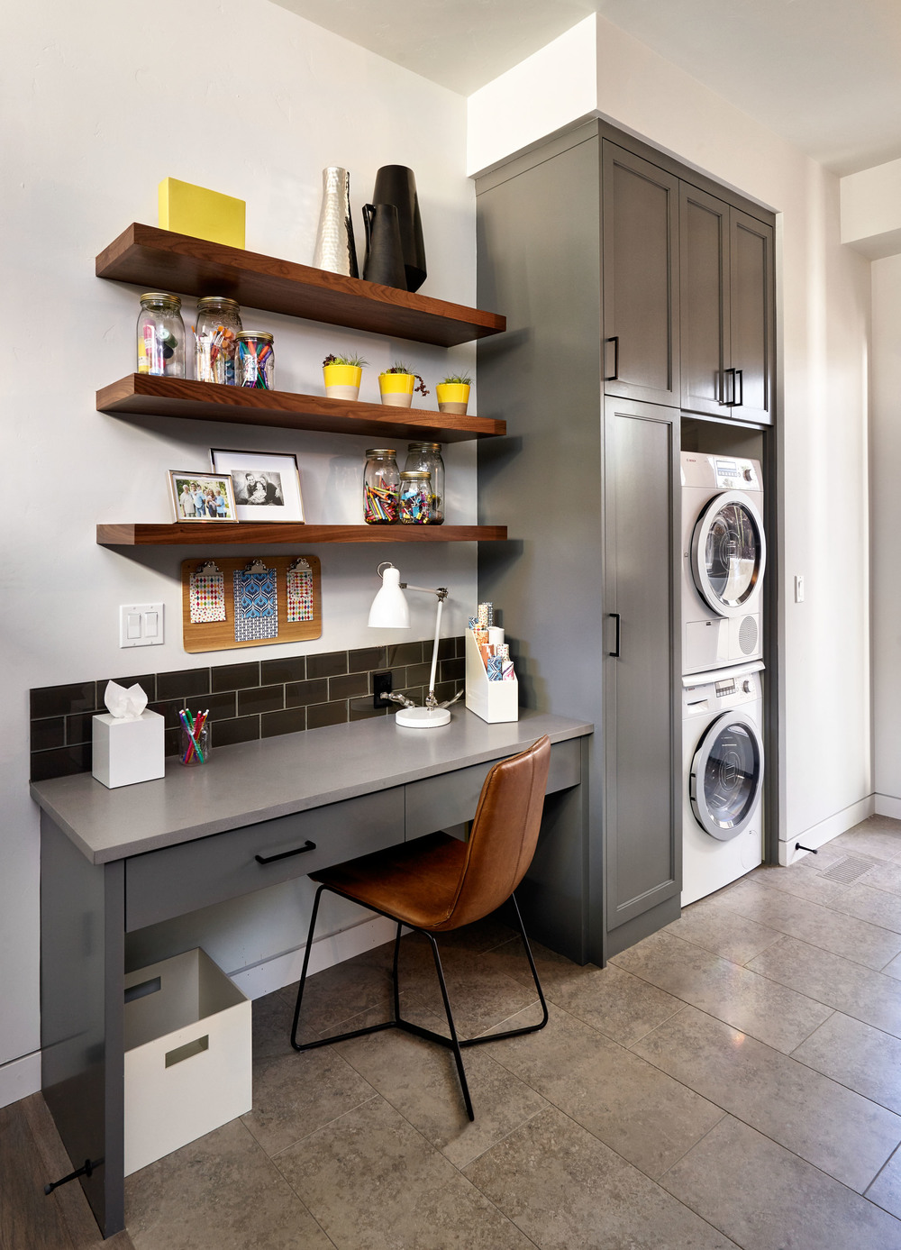 Sandhill Crane Laundry Room