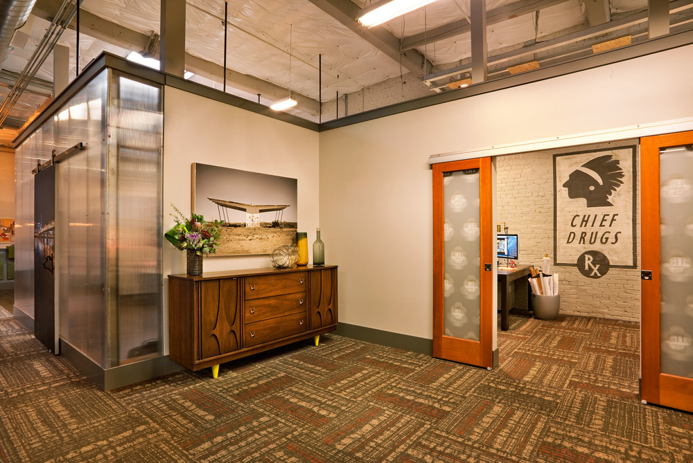 inside Garrison's office