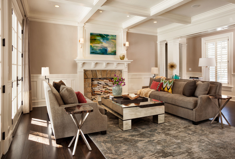 New Canaan Living Room