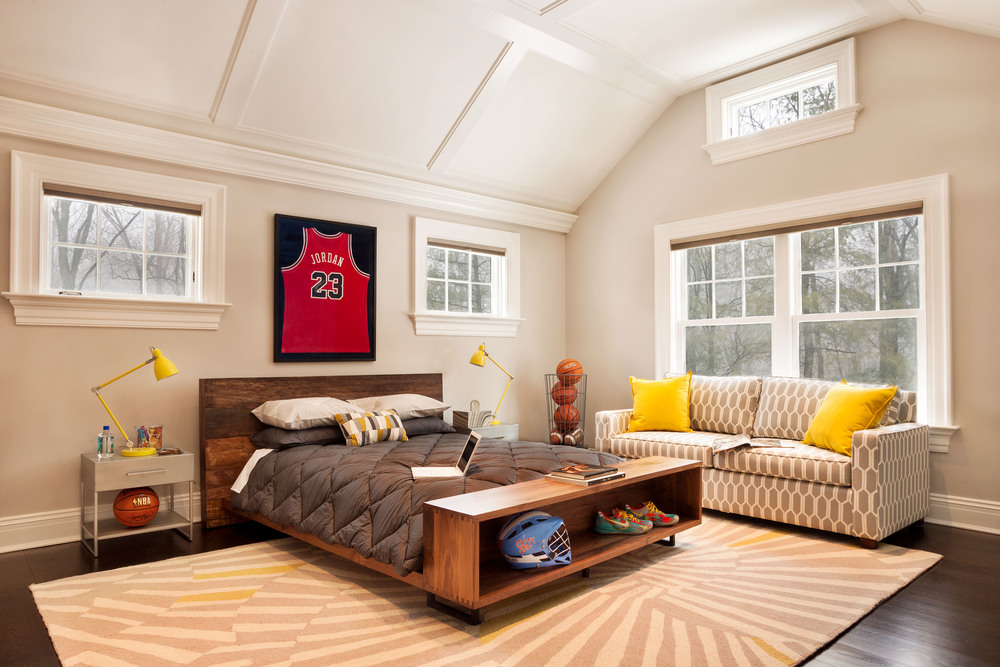 New Canaan Kid's Bedroom