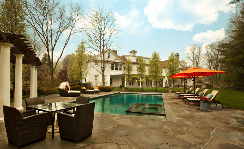 New Canaan Backyard