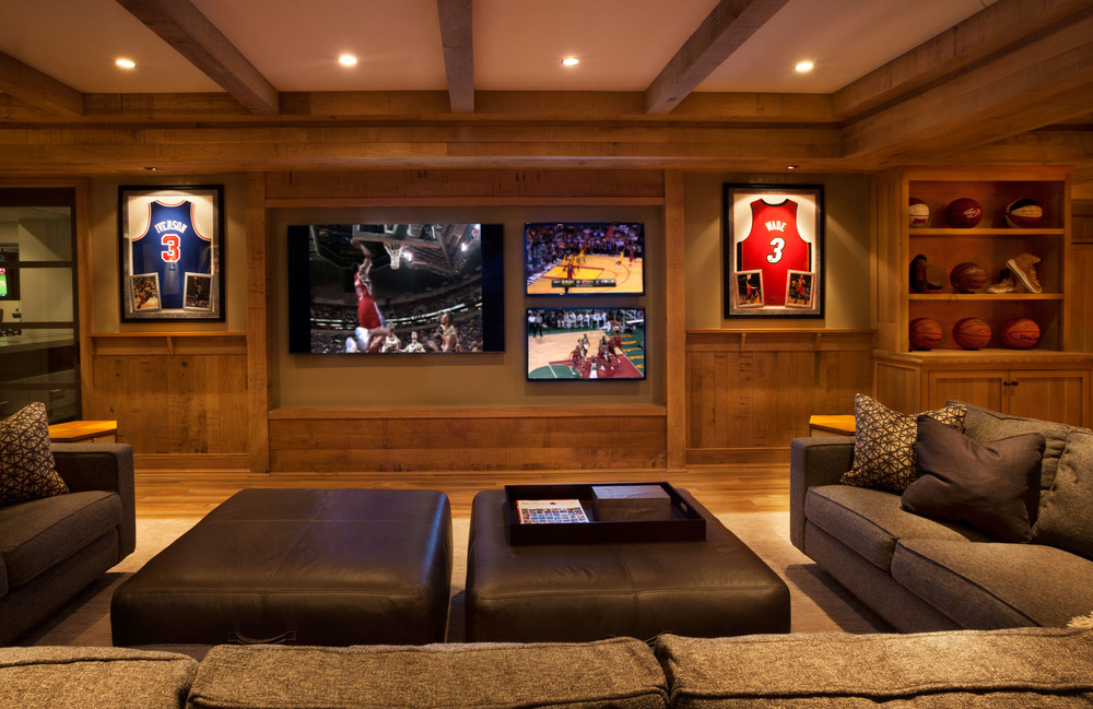 New Canaan Basement