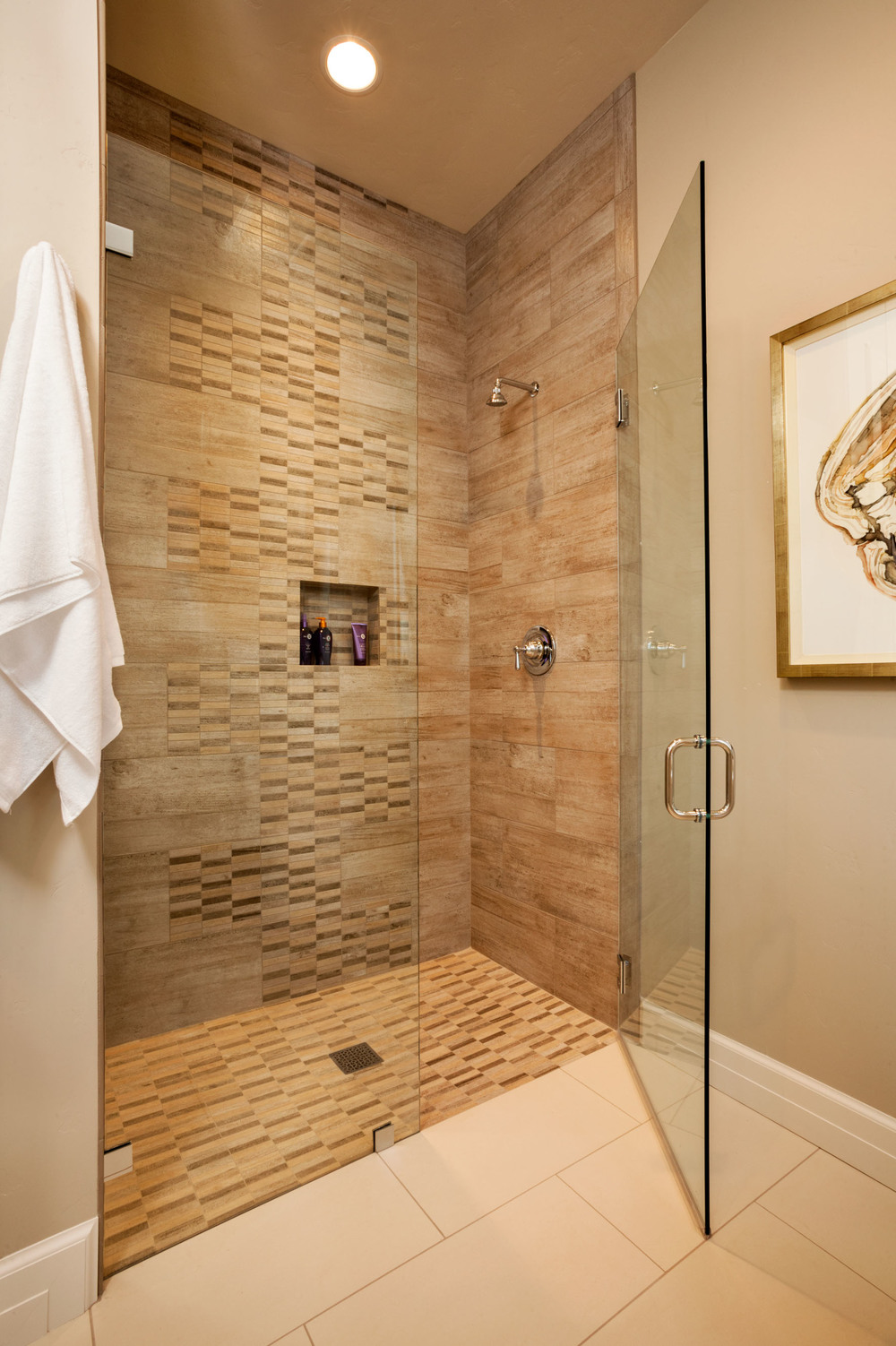 American Spirit Master bathroom Shower