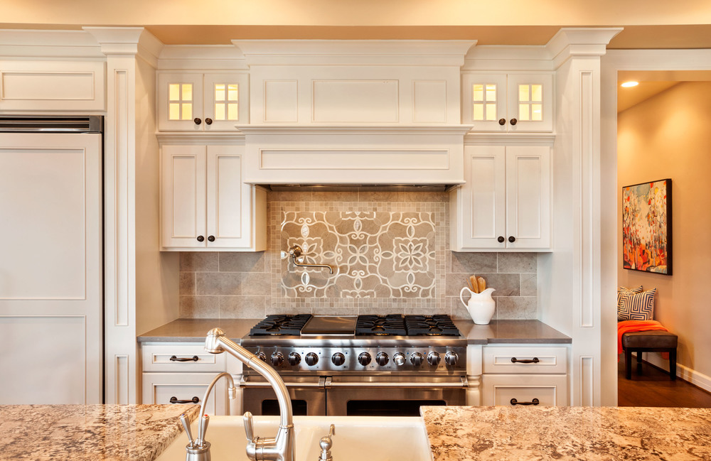 American Spirit Kitchen Backsplash