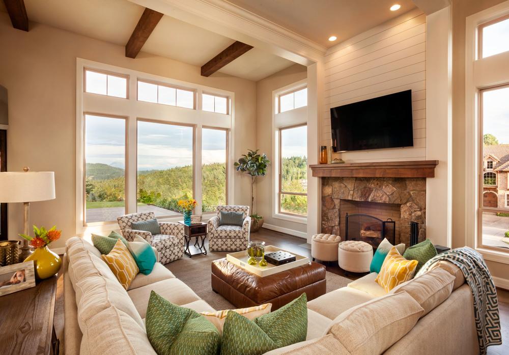 American Spirit Living Room