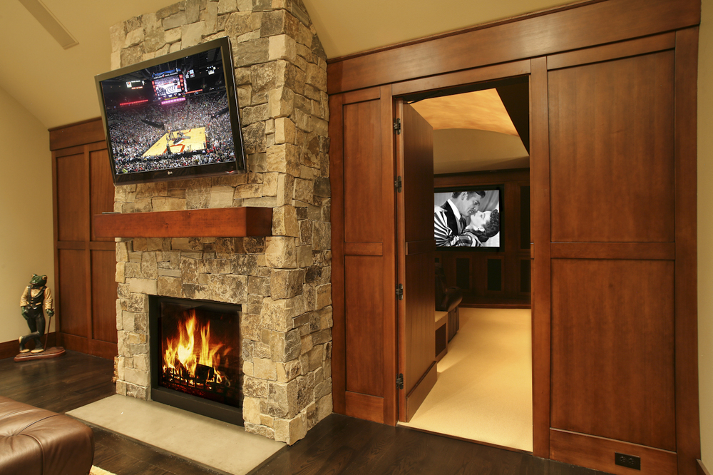 Camelia Court Home Theater