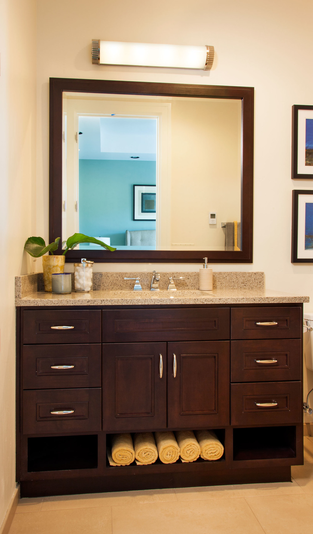 Stonehenge Terrace Guest Bathroom Vanity