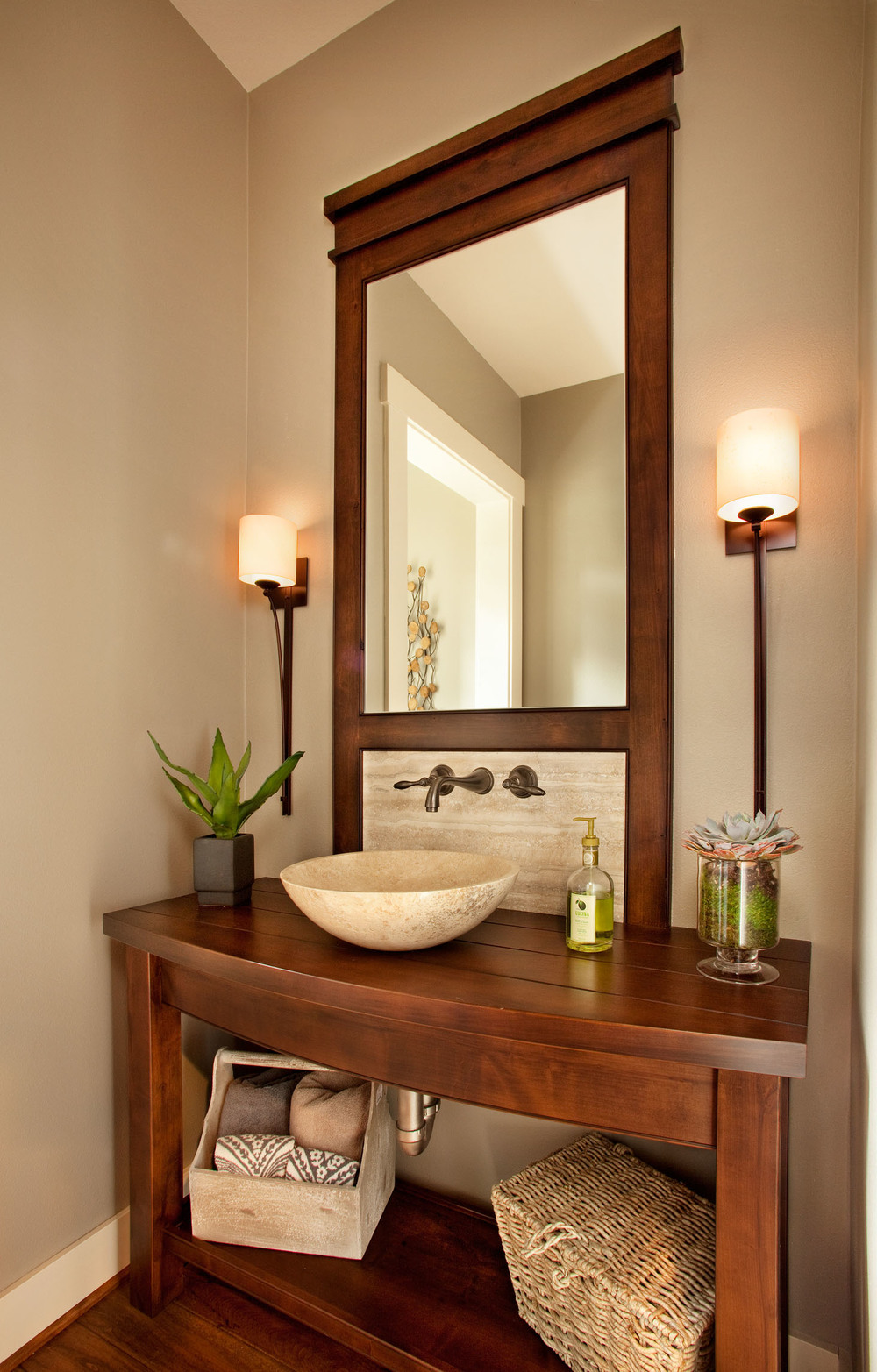 Danish Luxe Revival Powder Room