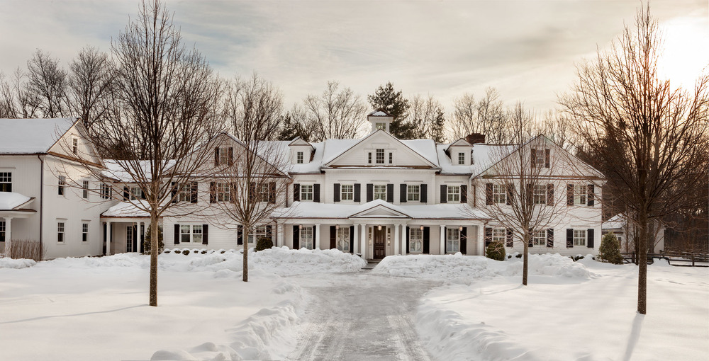 New Canaan Exterior Winter