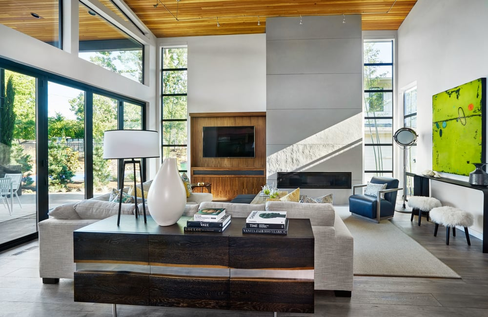 Sandhill Crane Living Room; Photo by Blackstone Edge